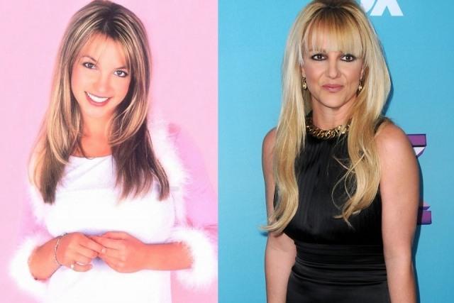 Foto El antes y después de Britney Spears