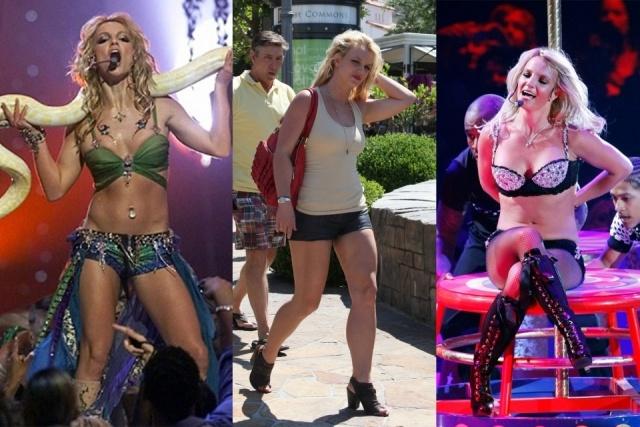 Foto Britney Spears ha transformado tanto su vientre como su pecho