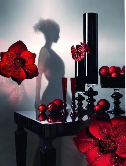 Foto Viste la Navidad de rojo