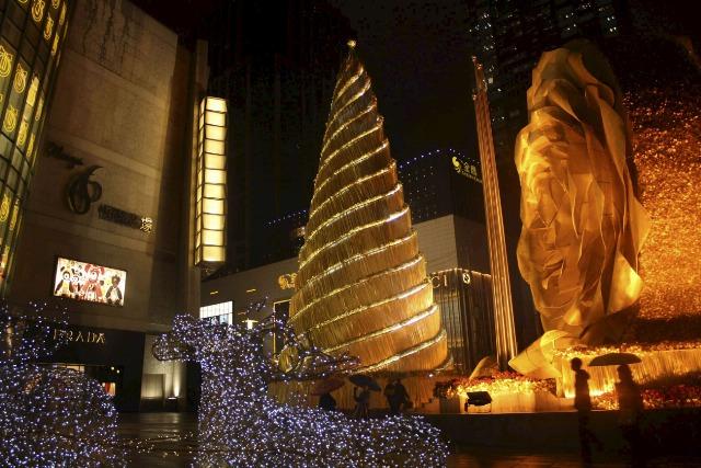 Foto Dorado, lujo y lujo en tu casa por Navidad