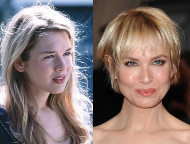 Foto El antes y el después de Renée Zellweger