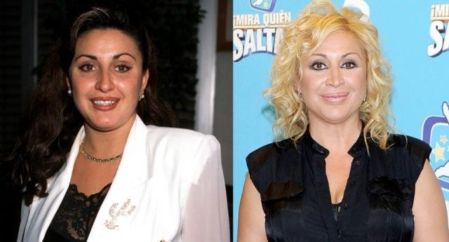 Foto El antes y después de Raquel Mosquera