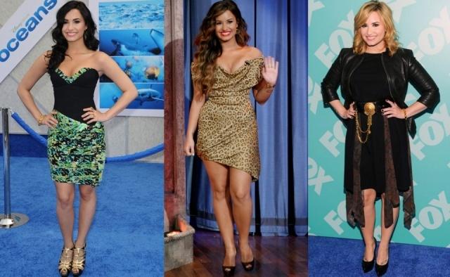 Foto El antes y el después de Demi Lovato