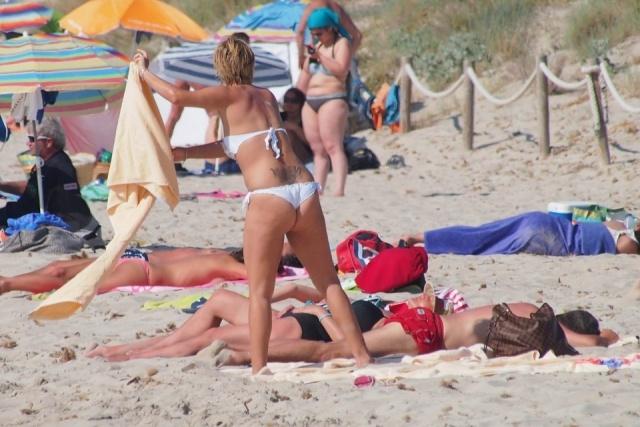 Foto Alessia Rossi Andra, mujer de Hernán Crespo, presume de cuerpazo en Ibiza