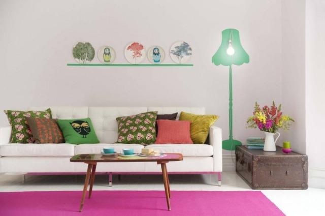 Foto Llena de color los muebles y elementos decorativos de tu hogar este invierno