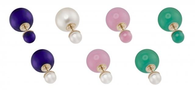 Foto El complemento it de la temporada, unos pendientes de perlas de Dior