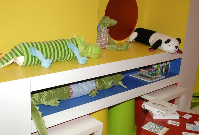 Foto Las estanterías, imprescindibles en la habitación de los niños