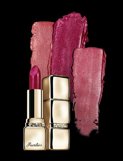 Foto Tonos fresas y guindas que ofrece la paleta cromática de la firma Guerlain