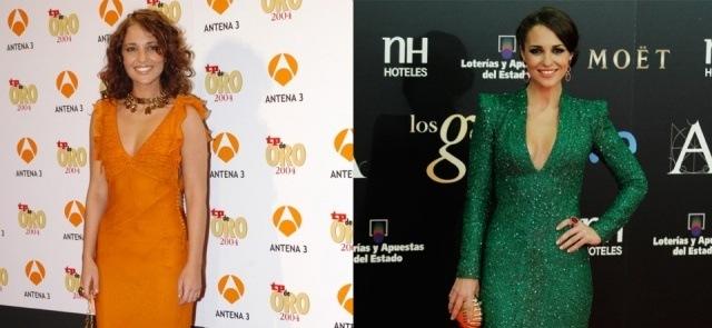 Foto Evolución de Paula Echevarría desde 2004 a 2013