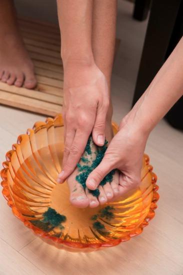 Foto Exfoliación de pies